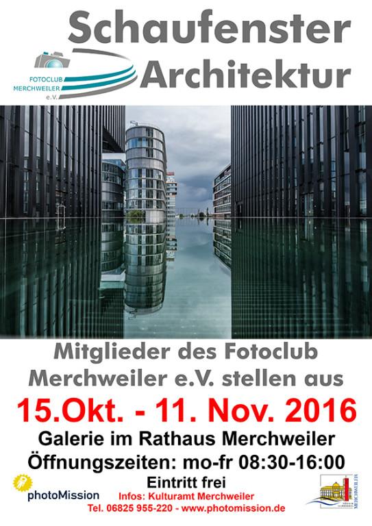 """Ausstellung """"Schaufenster Architektur"""""""